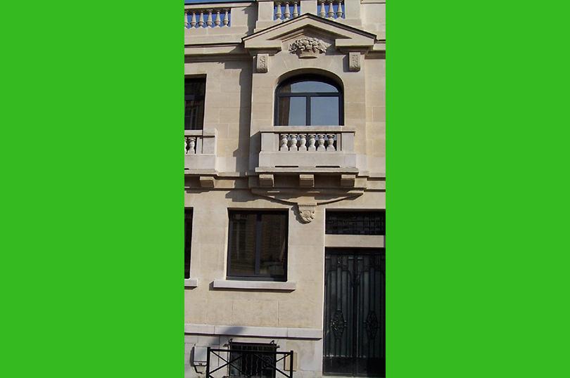 Ravalement Immeuble pierres de taille Clichy
