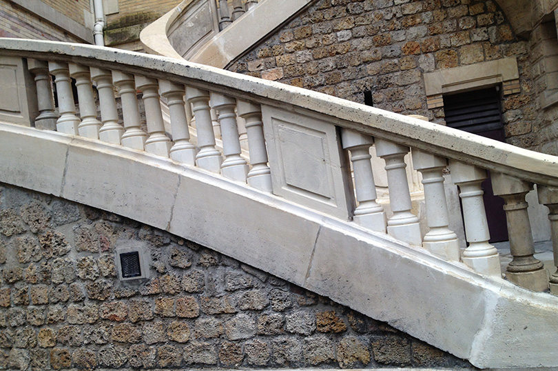 Restauration du marbre