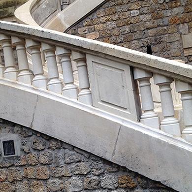 Restauration Balustrade en Marbre SAINT JEAN DE LA SALLE