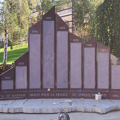 Sculpture Monument aux Morts