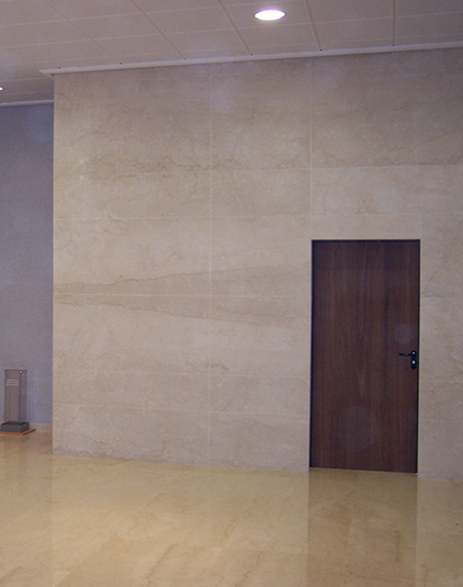 Hall d'entrée Marbre solmarbre mur