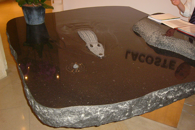 Taille Crocodile GRANIT VERT LABRADOR